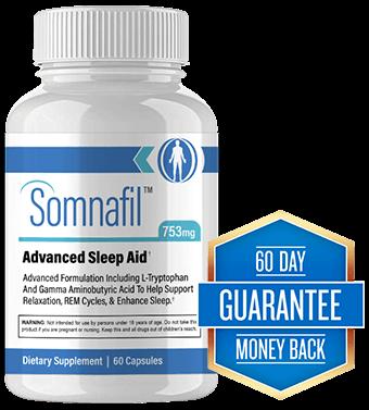 Somnafil Sleep Aid Bottle